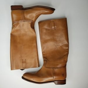 Frye Abigail Riding Boots Size 8